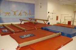 Main Gym 1 - Beam Area