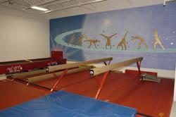 Main Gym 1 - Beams and tt