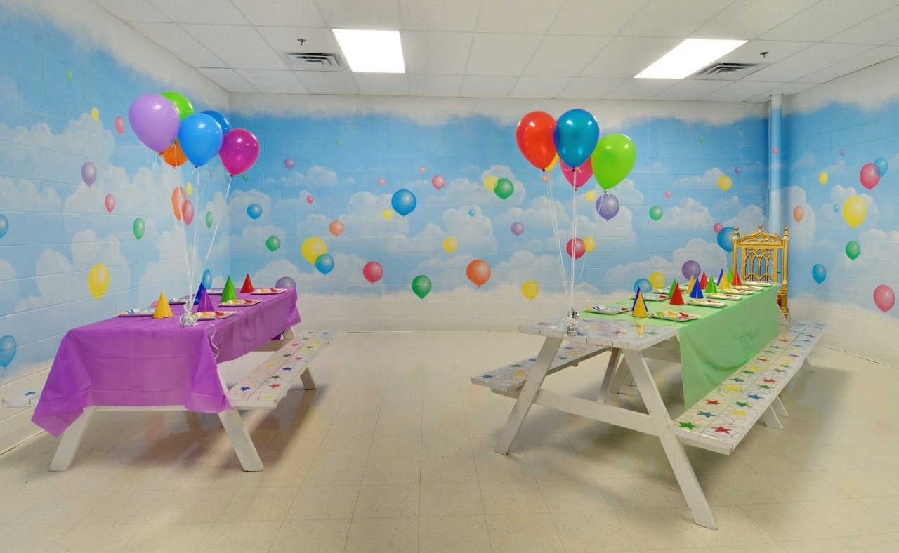 The Birthday Party Rooms - Balloon Room